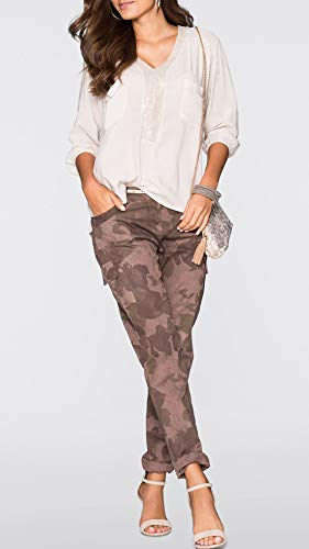 Beige Col et Longues T Printemps Paillettes Blouse Tops JackenLOVE Shirts pissure Automne Chemisiers V Casual Mode Manches Hauts Tee Femmes FHx5qPA5