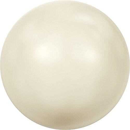 5810 Swarovski Pearls Round Crystal Cream Pearl | 10mm - Pack of 10 | Small & Wholesale Packs ()