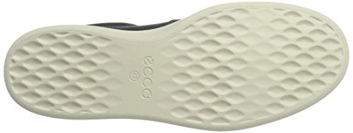Ecco Mens Kallum Casual Fashion Sneaker Moonless / Ghiaia
