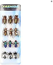 Fly Fishing Flies Trout Lure kit Dry Wet Fly-Fishing Flies Realistic Terrestrial Bumble Wasp Grasshopper Stone