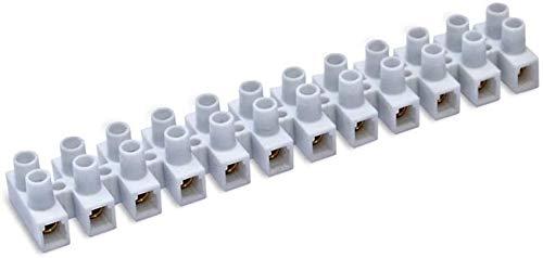 🥇 Regleta Empalmes de 12 Secciones para Cables hasta 2