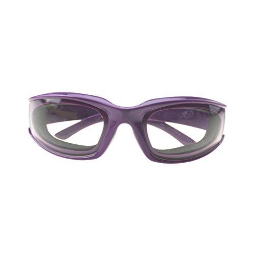Blue Vessel Sonnenbrille Brille Küche Brille Schutzbrille Zwiebelbrille (lila)