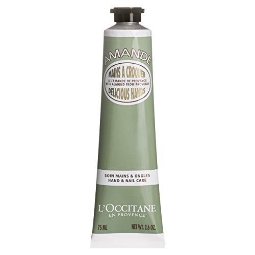 L'Occitane Almond Delicious Hands Moisturizing Hand Cream Enriched with Almond Oil, Net Wt. 2.6 oz.