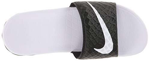 Women's Black White Bathing WMNS Solarsoft 010 Benassi Nike Sandals Black tZR7qpwY
