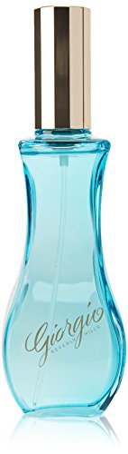 Giorgio De Eau Natural Spray Toilette (Giorgio Beverly Hills Giorgio Blue Women Eau De Toilette Spray, 3 Ounce)