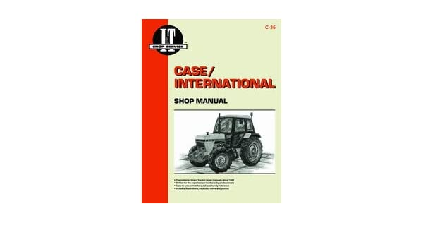 amazon.com: case 2090 tractor service manual (it shop): home improvement  amazon.com