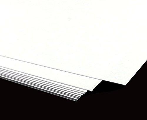 Zeichenpapier DIN A2   25 Bogen, lose   Skizzenpapier 170 g m², weiß  mattgestrichen - Schreibgefühl® B0794YN3GK  | Creative