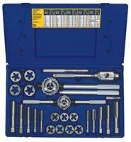 Irwin Industrial Tools 97094 Fractional Tap and Hex Die Set, (Fractional Die Set)