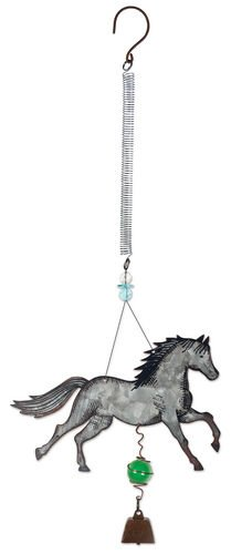Sunset Vista Designs Farm Fresh Horse Bouncy Hanging ()