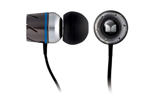 Monster Cable Turbine In-Ear Headphones - Black An...