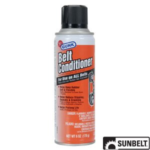 sunbelt gunk belt dressing 6 oz part no b1ac124