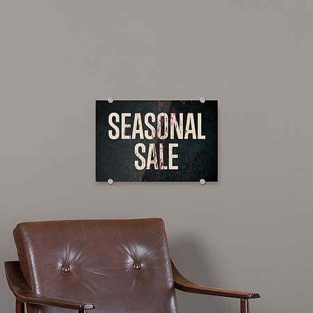 CGSignLab 36x24 Seasonal Sale Ghost Aged Rust Premium Acrylic Sign