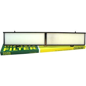 Mann-Filter CU 8430 Cabin Filter for select  BMW models