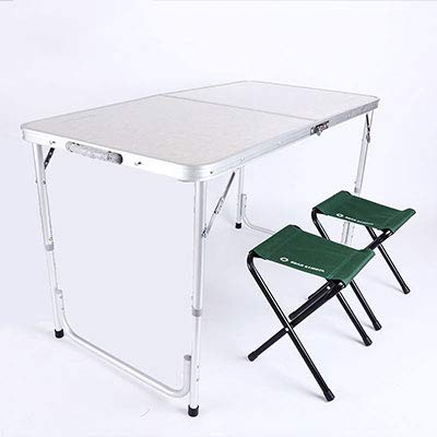 OTTAB Garden Set Table Portable Camping Tables 2 Chairs Outd