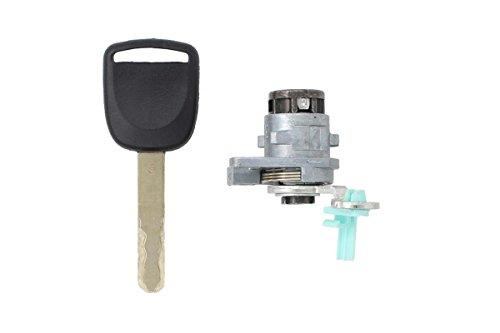 New Left Driver Side Door Lock Cylinder Keys Set For Honda Accord EX EXS LX LXS 2.4L 3.0L 72181-SDA-A11