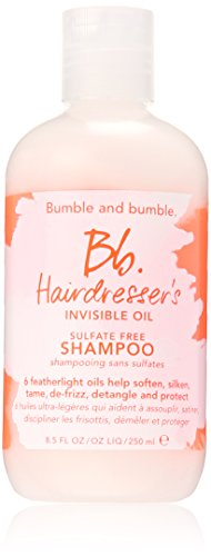 Bumble and Bumble hairdresser's invisible oil sulfate free shampoo.