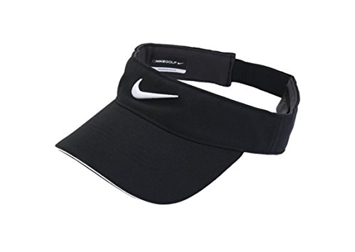 Tech Visor (Nike Golf -Tech Tour Visor Cap Hat Adjustable Black 727033-010)