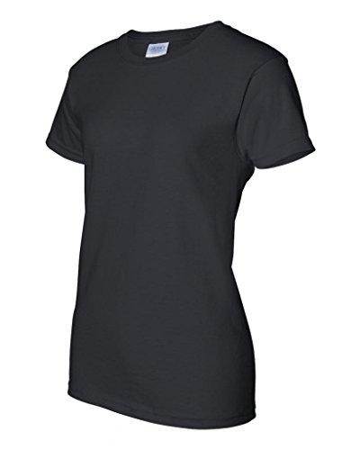 Gildan Womens 6.1 oz. Ultra Cotton T-Shirt G200L -BLACK L