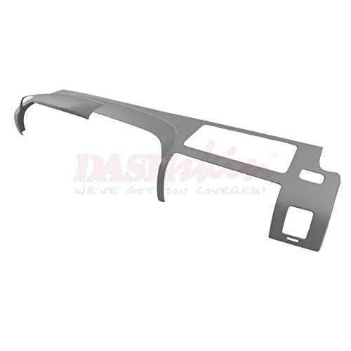 DashSkin Molded Main Dash Cover Compatible with 07-13 Silverado LS/LT & Sierra SL/SLE in Dark Titanium by DashSkin (Image #4)
