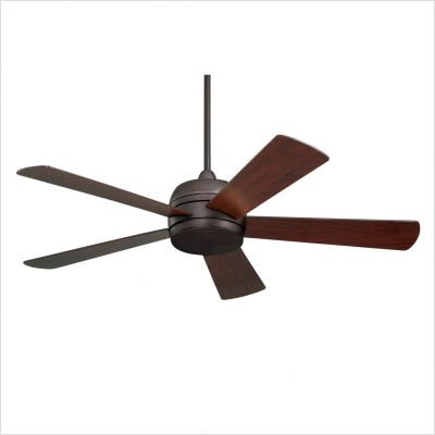 Silver Fan Ceiling Emerson (Emerson Atomical 52-inch Brushed Steel Modern Indoor/Outdoor Ceiling Fan - Silver)