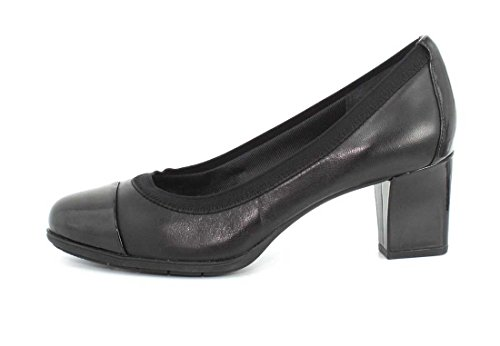 Rockport Mujeres Esty Luxe Captoe Pump Black