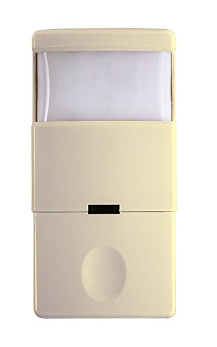 Intermatic IOS-DOV-NL-IV Decorator PIR Occupancy Vacancy Sensor with Nightlight, Ivory