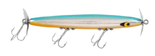 Bass Chrome Bait (Smithwick Devil's Horse - Chrome/Blue Back/Orange Belly - 3/8 oz)