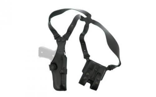 Galco Vertical Shoulder Holster System for Beretta 92F / FS (Black, - System Shoulder Holster