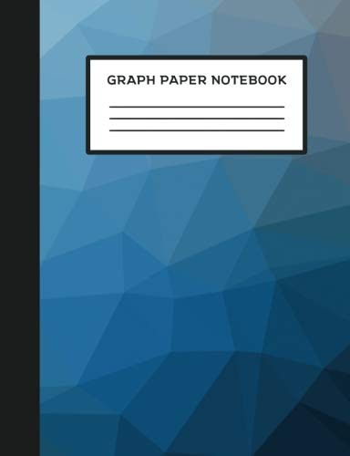 """Graph Paper Notebook: 7.44"""" x 9.69"""" Composition Notebook Style Paperback Journal 5x5 Grid For Graphing and Mathematics - Geometric Blue Cover - ... Students (Graph Paper Notebooks) (Volume 1) pdf epub"""