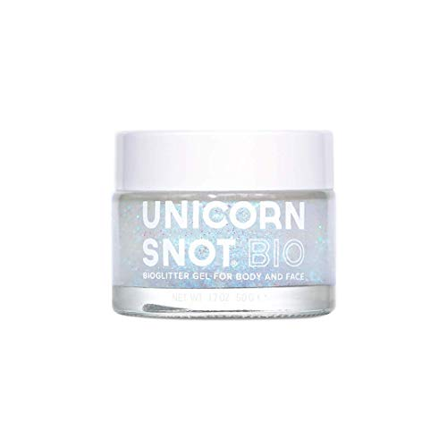 Unicorn Snot Biodegradable Holographic Body Glitter Gel for Body, Face, Hair – Halloween Costume Makeup – Vegan…
