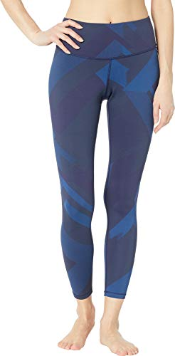 Brooks Women's Formation Crop Pants Navy Eclipse Jacquard Large 28 ()