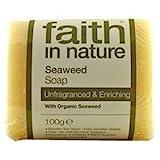 Hand Made Seaweed Soap Unfragranced With Organic Seaweed 100g