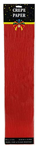 Darice 2507-30F Crepe Paper, 7.5' x 20
