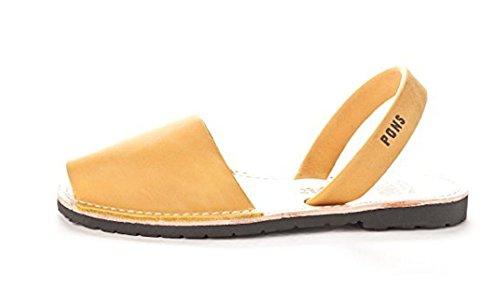 Women Style Classic Avarca Pons Saffron TEq0EZtFn