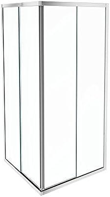 Jacob delafon serenity - Mampara angular 2 puerta 90cm cromo ...