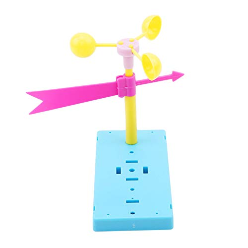 (heaven2017 Wind Vane Kit Science Technology Physics Experiment Educational Kid Toy)