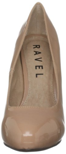 Ravel Helga, Damen Halbschuhe Rosa (Nude Patent)