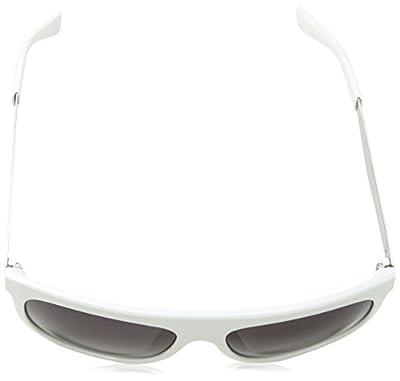 Calvin Klein Sunglasses 1185 267 White Light Gold Grey Gradient