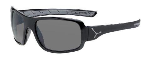CEBE CHANGPA SUNGLASSES (1500 GREY AR LENS SHINY BLACK GREY - Cebe 1500 Lenses