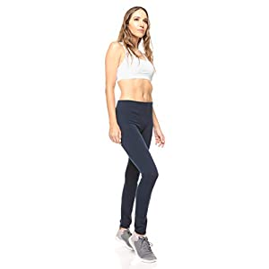 Free to Live 6 Pack Seamless Fleece Lined Leggings for Women – One Size