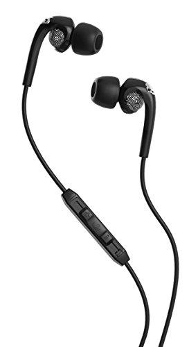 Skullcandy S2FXGM-412 Bombshell Women's In-Ear Headphones with Earbud, Mic & Remote, Geo Black