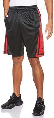 Nike Franchise Short Homme, BlackGym RedBlackBlack, FR