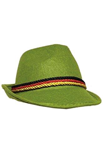 HMS Men's Oktoberfest Hat, Green, One Size