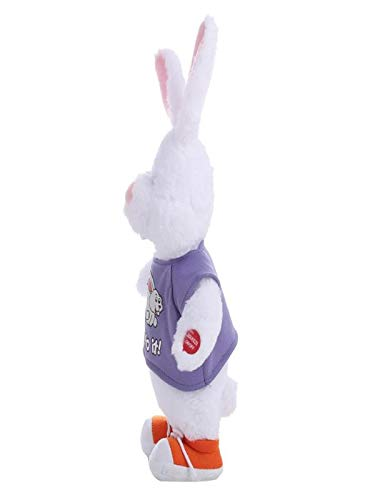 """Icocol Interesting Adorable Electronic Bunny Dancing Singing Music Cute Stuffed Plush Toy for Electronic Toy for Boy and Girl Gift, 50cm(19.7"""")"""