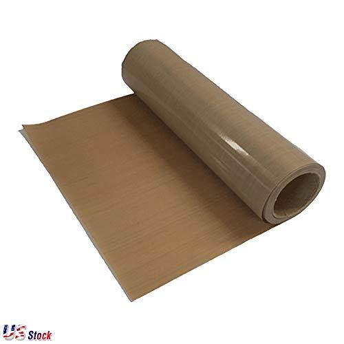 39'' x 5 Yard Teflon Sheet PTFE Teflon Fabric Sheet Roll Sublimation Heat Resistant Teflon Roll for Heat Press Transfer, 5Mil Thickness - US Stock by H-E (Image #1)