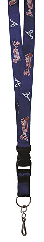 MLB Atlanta Braves Lanyard Atlanta Braves Memorabilia