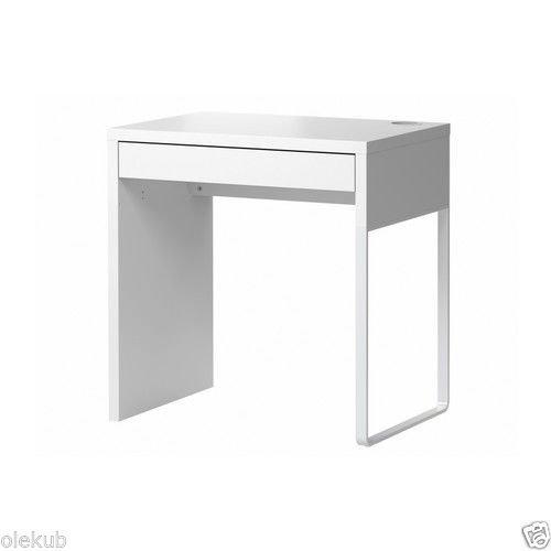 Ikea Modern Computer Desk  White  Micke 302 130 76