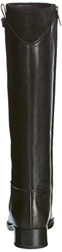Geox D Felicity F, Botas de Montar para Mujer Schwarz (BLACKC9999)