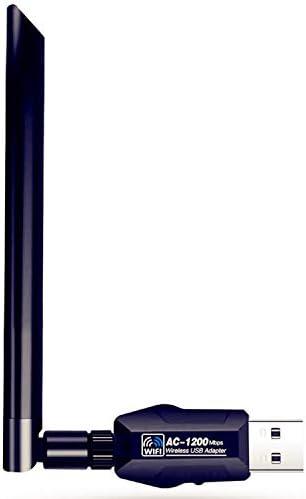 DOSMUNG WiFi Adaptador AC 1200Mbps USB WiFi Receptor ...