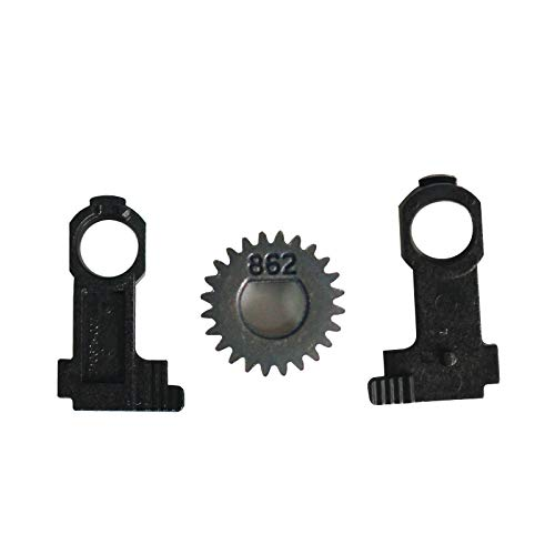 ZUYE Platen Roller Buckle & Gears for Zebra GK420D Printer by ZUYE (Image #1)